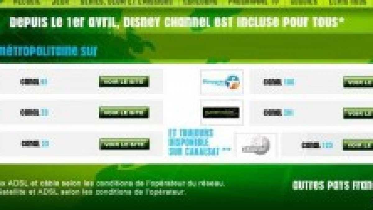 Est-ce que Disney Channel est payant ?