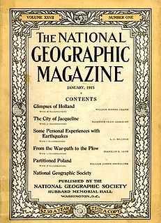 Quel est le symbole iconique de National Geographic ?