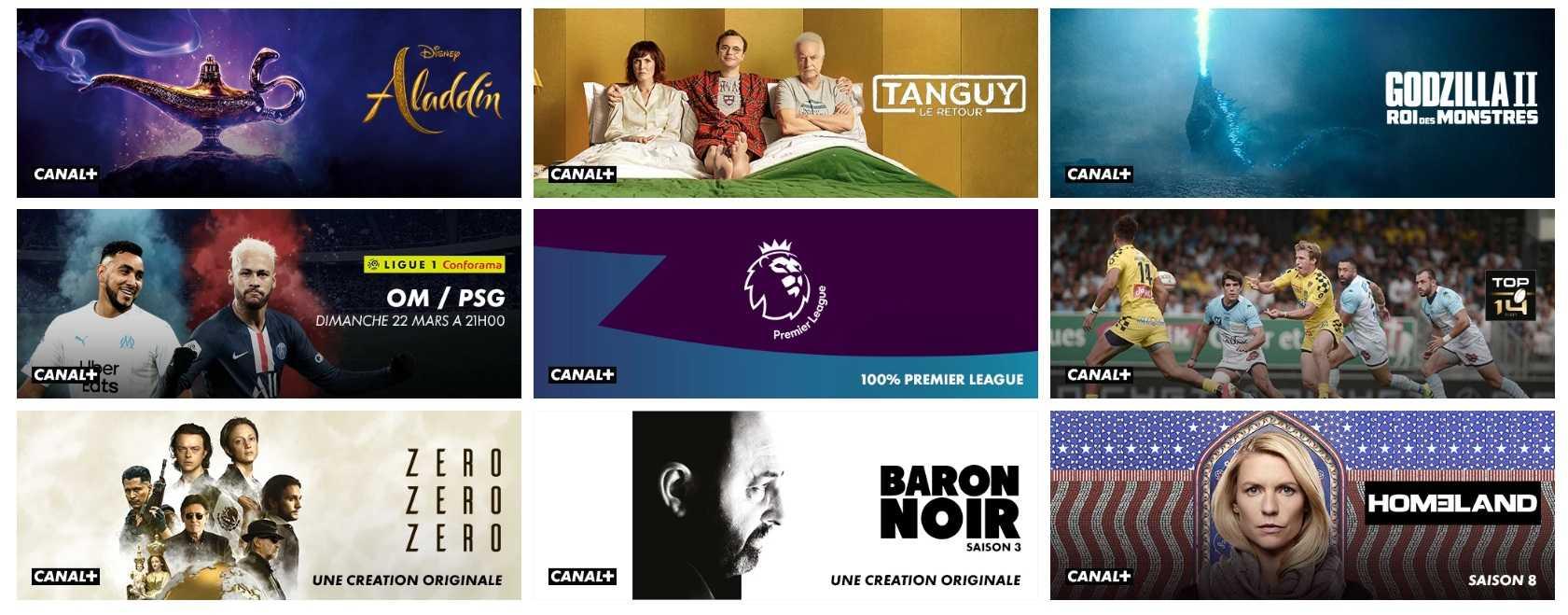 Quelle chaîne pour Ciné+ Premier ?