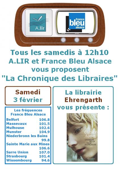 Quelle est la fréquence de France Bleu Alsace ?