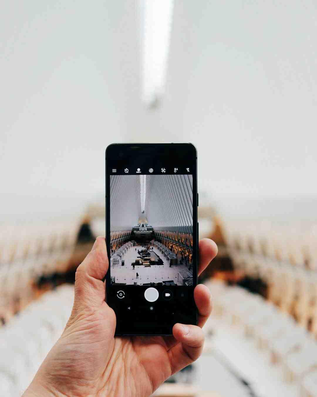Comment mettre des photos dans un album ?